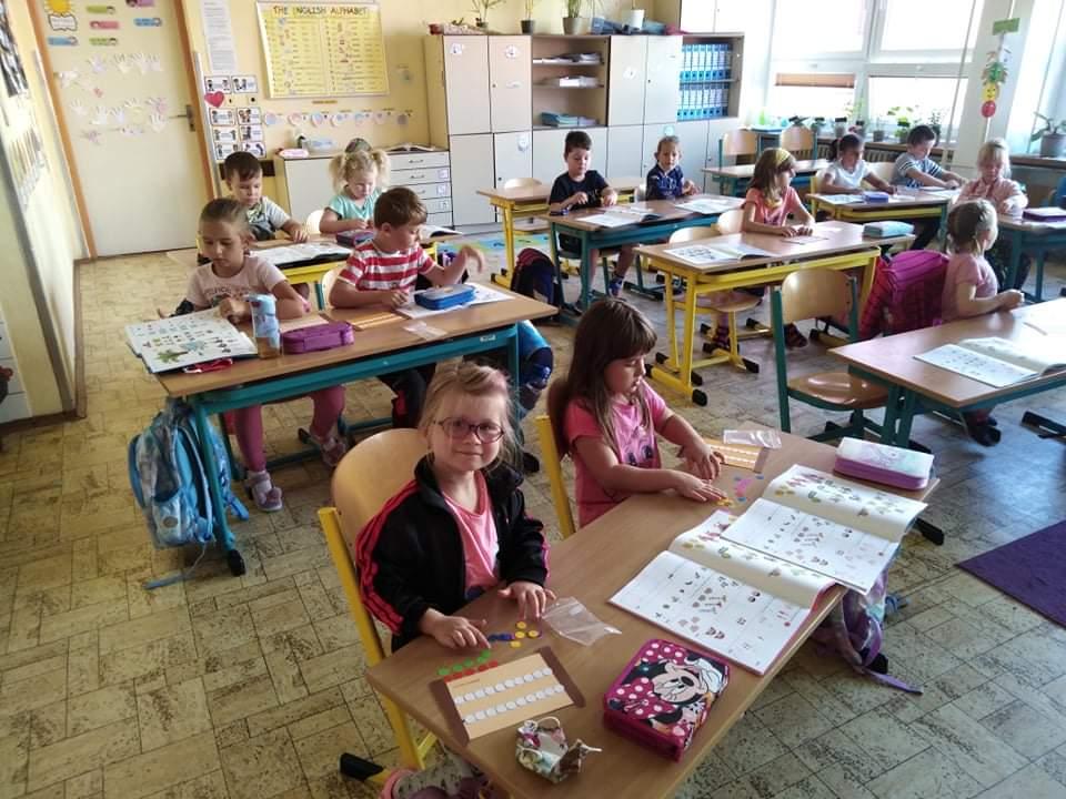 Celá třída pracuje na počítadlech