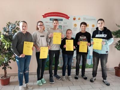 """Účastníci 9. ročníku soutěže """"Finanční gramotnost"""""""