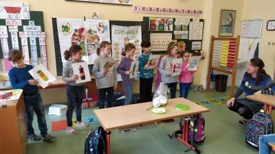 Druháčci ZŠ Mládežnická Trutnov v rámci programu Zdravá pětka