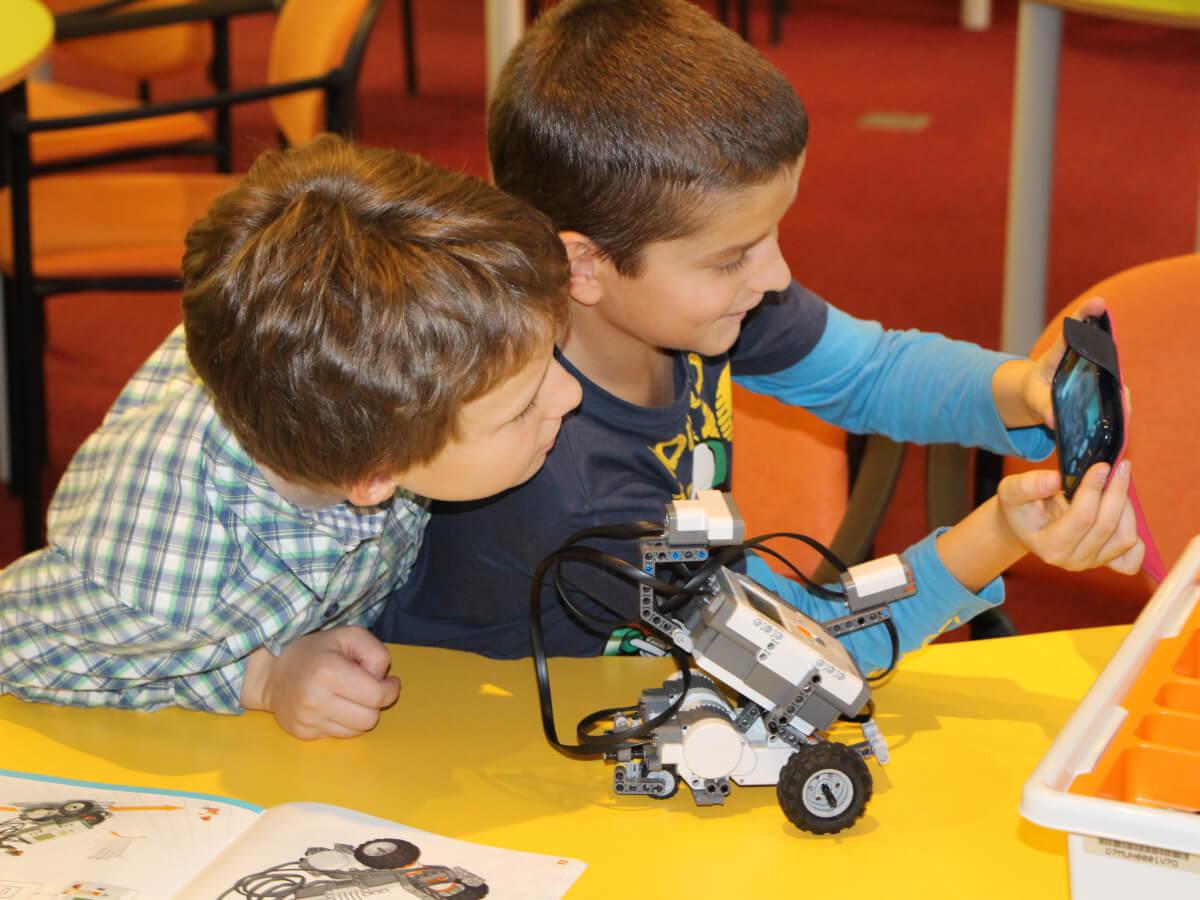 Robotika s nejmenšími žáky